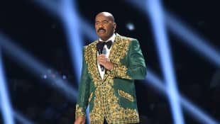 Steve Harvey is under criticism after hosting the Miss Universe pageant again