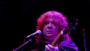 Steve Priest performs during A Benefit Concert For Sophia at Avalon Hollywood on January 6, 2010