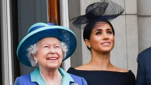 The Queen, Prince Charles & The Cambridges Sent Birthday Wishes To Meghan Markle.