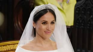 The Story Behind Queen Elizabeth and Meghan Markle's Wedding Day Tiara Debacle