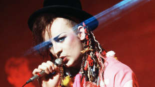 This Is Boy George In 2020.