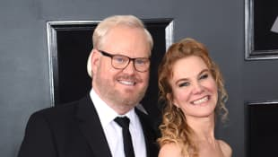 This Is Jim Gaffigan's Wife Jeannie.