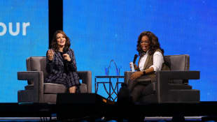 Tina Fey and Oprah Winfrey