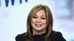 Valerie Bertinelli speaks onstage during the Food Network portion of the Discovery Communications Winter 2019 TCA Tour at the Langham Hotel on February 12, 2019 in Pasadena, California.