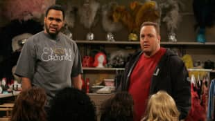 Victor Williams and Kevin James in The King of Queens