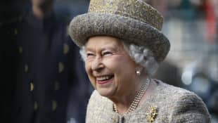 'Was Queen Elizabeth's Subtle Style Statement In Honour Of Prince Harry and Meghan Markle?