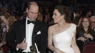 Prince William and Duchess Catherine attend the BAFTAs