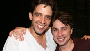 Zach Braff's New Tattoo Honoring Late Friend Nick Cordero.