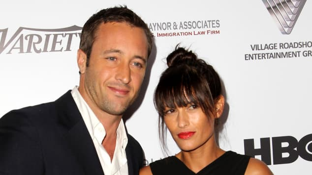 Alex O'Loughlin and Malia Jones married 2014 in hawaii