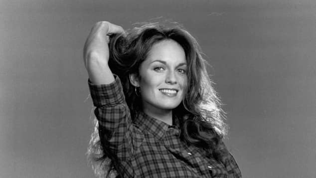"Catherine Bach as ""Daisy Duke"" in ""The Dukes Of Hazzard"""