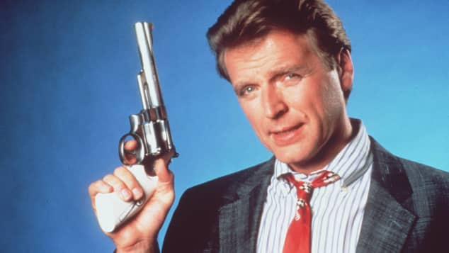 "David Rasche in ""Sledge Hammer!"""
