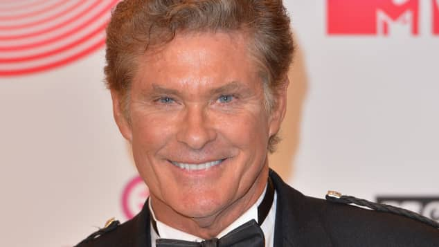 David Hasselhoff at the MTV Europe Music Awards 2014