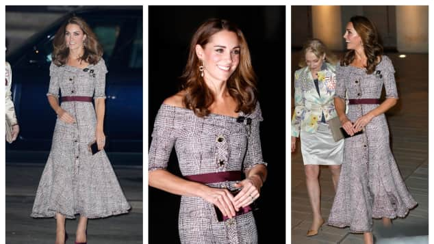Duchess Kate attends the opening of the V&A Photography Centre at Victoria & Albert Museum