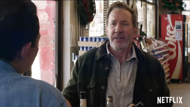 Tim Allen in El Camino Christmas