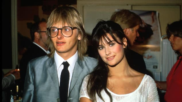 Freddy Moore and Demi Moore