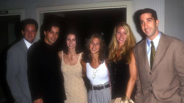 Jennifer Aniston, Courtney Cox, Matthew Perry, Matt LeBlanc, Lisa Kudrow and David Schwimmer