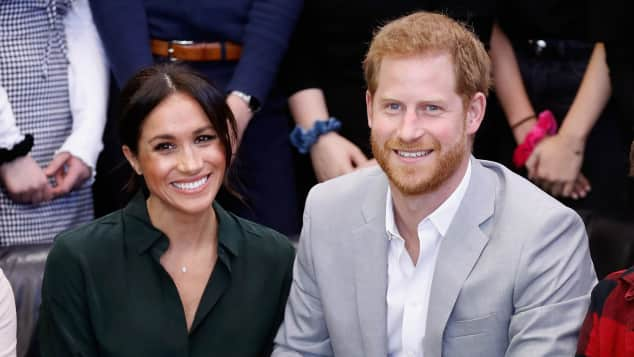 The Duke and Duchess of Sussex on an official visit to the Joff Youth Centre