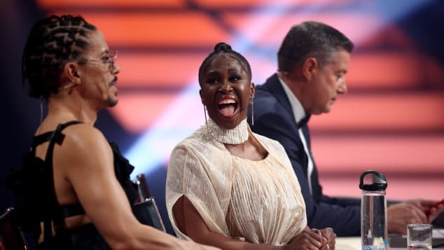 "Motsi Mabuse on the television competition ""Let's Dance"" on June 14, 2019 in Cologne, Germany."