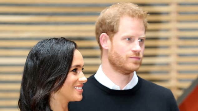 Duchess Meghan and Prince Harry in February 2019
