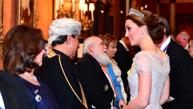 The stunning tiara on The Duchess of Cambridge