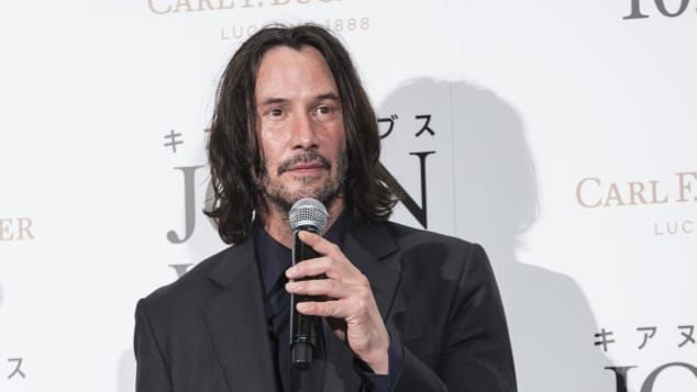 "Keanu Reeves attends the premiere of ""John Wick: Chapter 3 - Parabellum"" on September 10, 2019 in Tokyo, Japan."