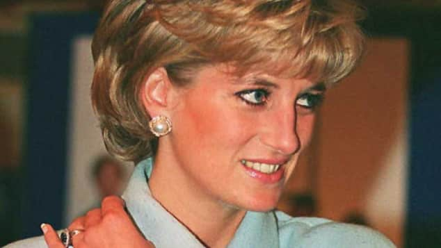 Princess Diana before her death