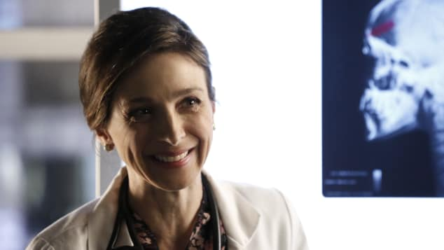 "Marin Hinkle in the series ""Castle"""