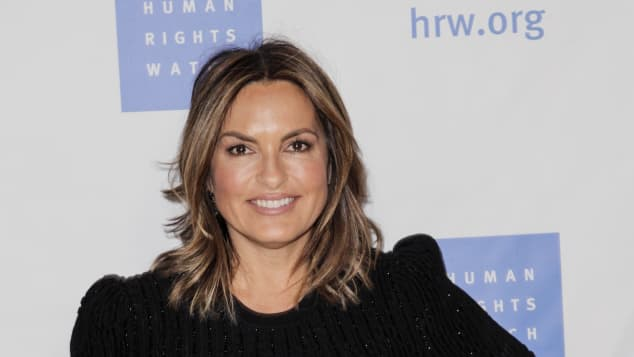 Mariska Hargitay attends the annual Voices for Justice Dinner hosted by Human Rights Watch at The Beverly Hilton Hotel on November 13, 2018 in Beverly Hills, California