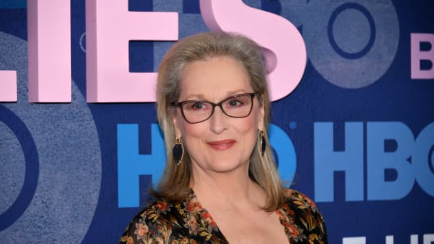 """Meryl Streep attends the """"Big Little Lies"""" Season 2 Premiere at Jazz at Lincoln Center on May 29, 2019 in New York City."""