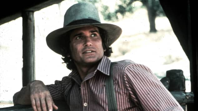 """Michael Landon starred as """"Charles Ingalls"""" in 'Little House On The Prairie'."""