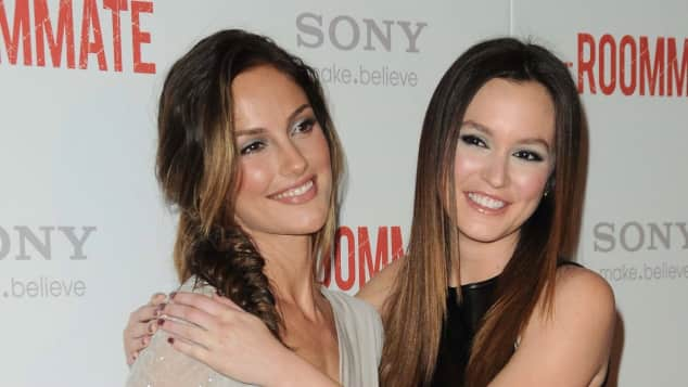 Minka Kelly and Leighton Meester The roommate