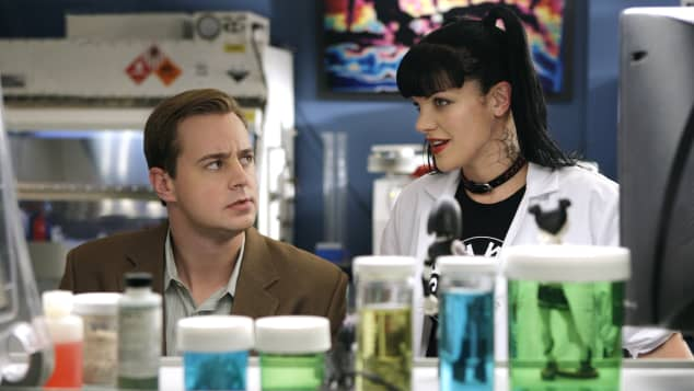 "Sean Murray and Pauley Perrette in the series, ""NCIS"""