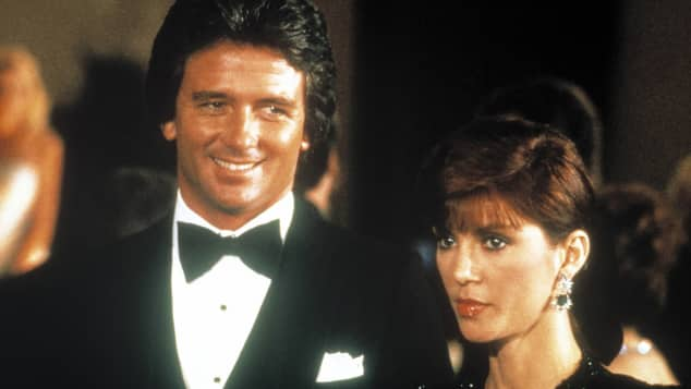 "Patrick Duffy and Victoria Principal in ""Dallas"""