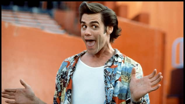 "Jim Carrey is known for his role as ""Ace Ventura"" in 1994's 'Ace Ventura: Pet Detective'."