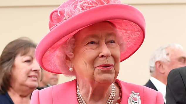 The Queen Chats With British Armed Forces Members Via Video Call