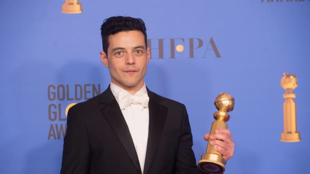 Rami Malek at the 76th Golden Globes