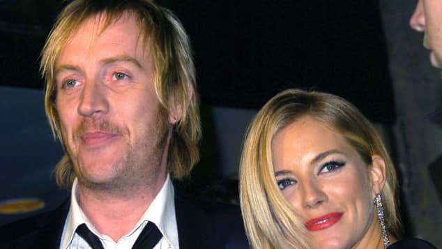 Rhys Ifans and Sienna Miller