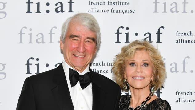Sam Waterston and Jane Fonda