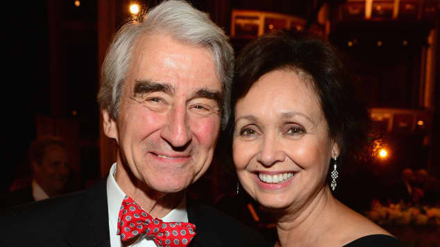 Sam Waterston and Louisa Woodruff