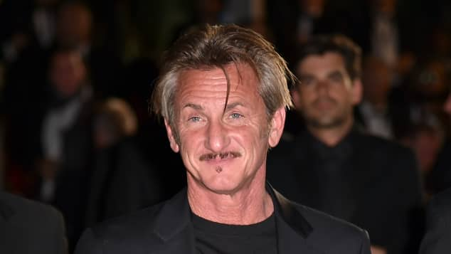 Sean Penn at the 69th Cannes Film Festival in Cannes, France in 2016