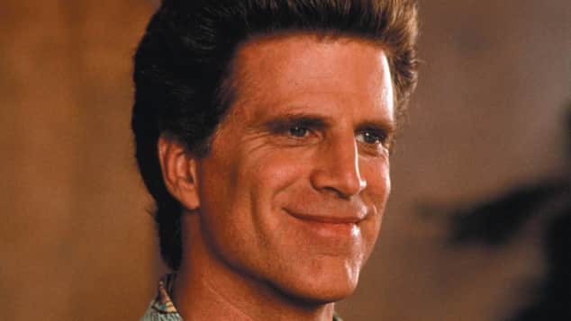 Ted Danson with brown hair