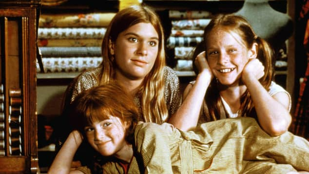 Judy Norton-Taylor, Mary Elizabeth McDonough and Kami Cotler in 'The Waltons'