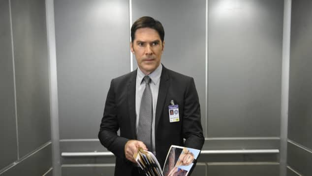 "Thomas Gibson as ""Aaron Hotchner"" in 'Criminal Minds'"