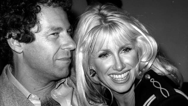 Suzanne Somers and Alan Hamel at Studio54 in 1978.