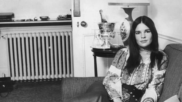 Ali MacGraw in 1971