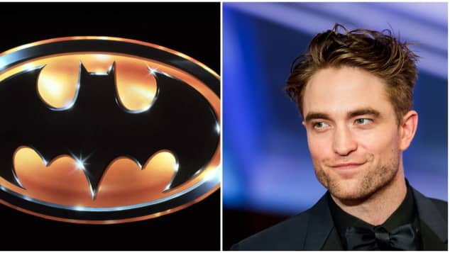 Batman Logo Robert Pattinson 2021