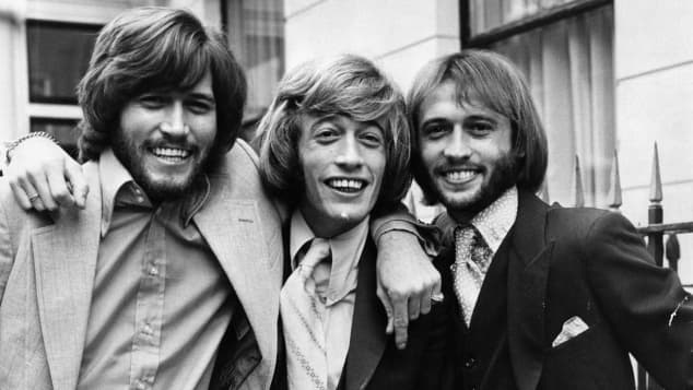 The Bee Gees in 1970