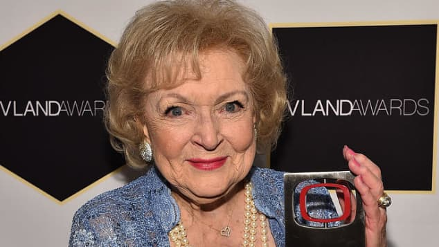 "Betty White ""Rose Nylund"" The Golden Girls Alive"