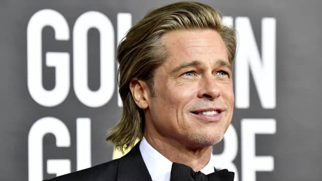 Brad Pitt talks about his first kiss and crushes growing up