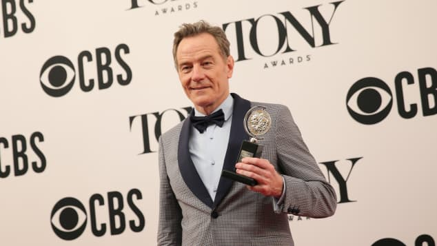 Bryan Cranston 2019 Tony Awards Network Winner POTUS